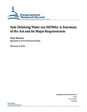 Safe Water Drinking Act Summary