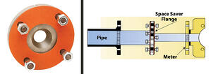Space Saver Flange Illustration
